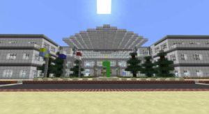 "Apple Campus ""Infinite Loop"" in Minecraft"