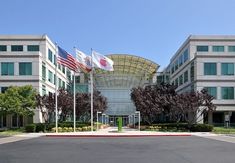 Apple-Hauptquartier in Cupertino
