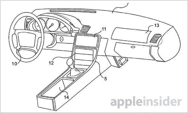 Apple patentiert Auto-Entertainment- und -Informationssystem