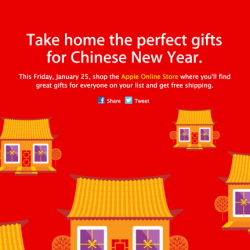 """""""Red Friday"""": Apple mit Sonderangeboten zum chinesischen Neujahrsfest"""