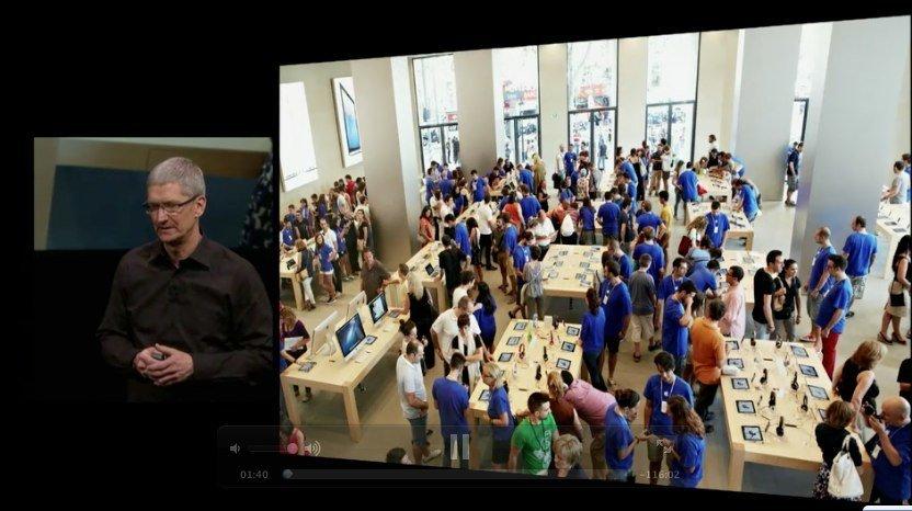 Apple-Keynote September 2012