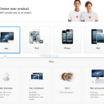 AppleCare: Neue Benutzeroberfläche. Foto: 9to5mac