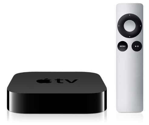 Apple TV 2G mit Apple Remote