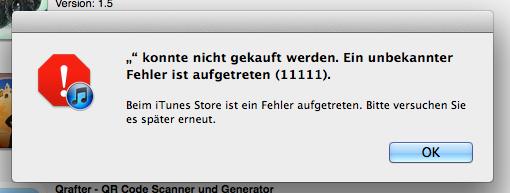 App Store-Bug