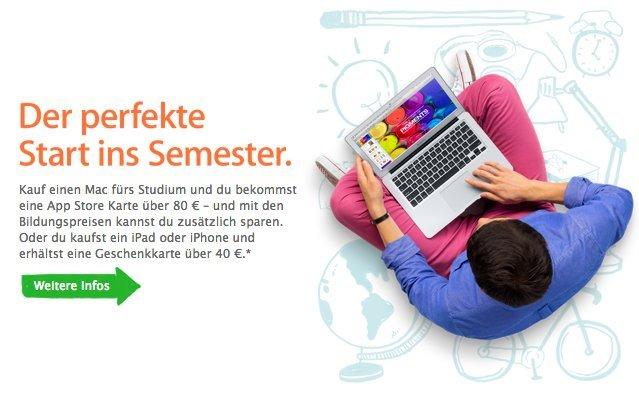 Apple Back to School 2013