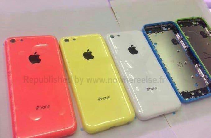 Budget-iPhone bunte Rückseite, Foto: Nicht NWE
