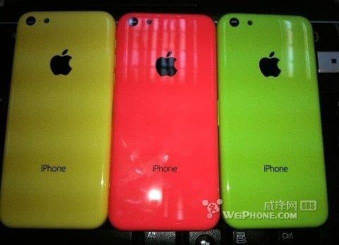 Farbige Rückseite des Budget-iPhone, Foto: Weiphone