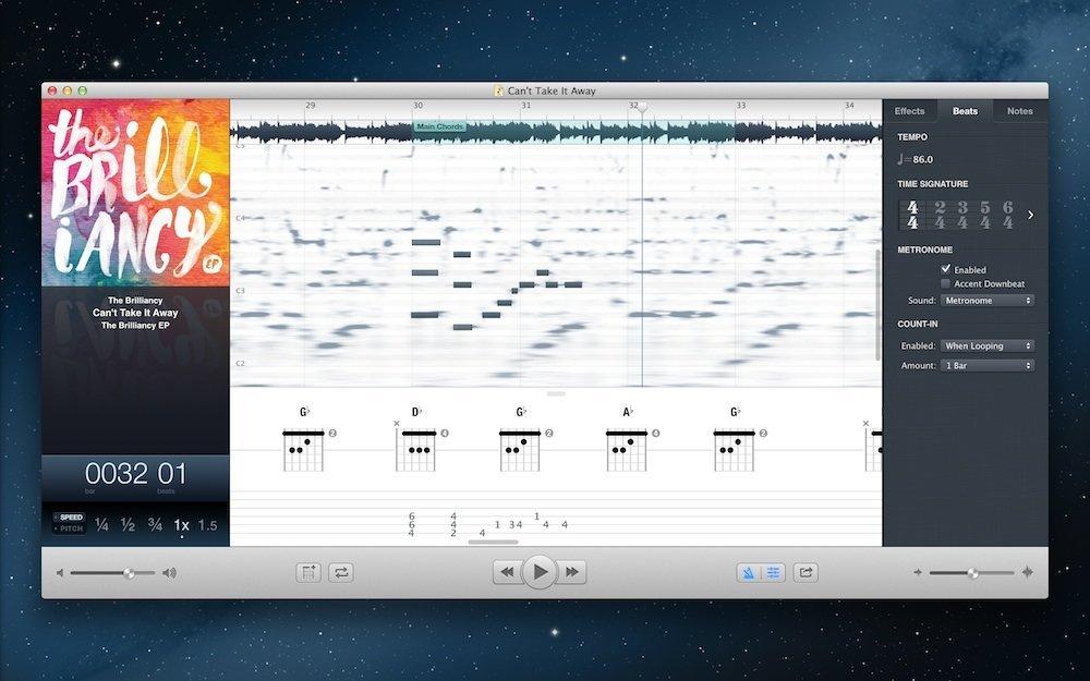 Audio für Mac: Capo 3 im Test