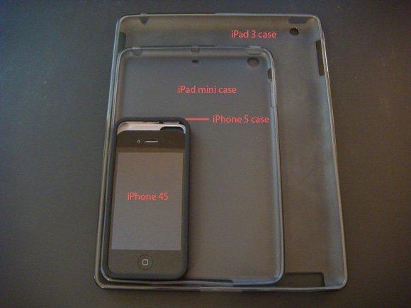 Cases vom iPhone 5 und iPad Mini im Vergleich