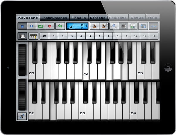 Music Studio für iPad