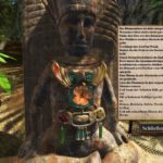 Destination Treasure Island: An dieser Statue muss man die Blumen richtig einsetzen