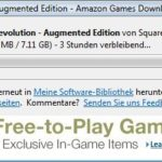 Deus Ex: Human Revolution Amazon-Downloader