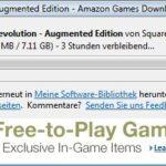Deus Ex: Human Revolution Amazon-Downloader