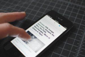 Digg Rss-Reader auf dem iPhone, Foto: Digg