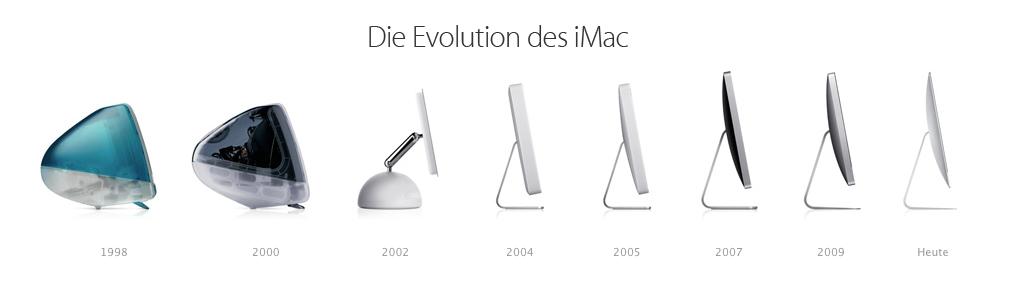 iMac-Generationen