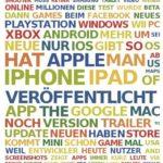 Facebook Word Cloud von Alexander Trust: Stand 25.1.2013