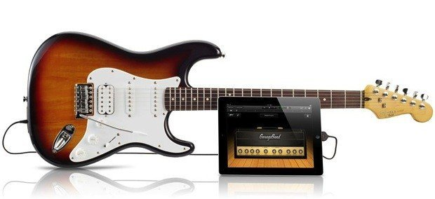 Squier by Fender USB Stratocaster-Gitarre