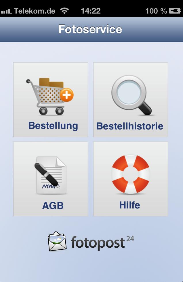 Fotoservice-App für iPhone, Android und Windows Phone