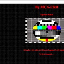 Google in Rumänien von Hacker MCA-CRB lahmgelegt