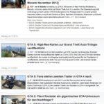 GTA 5 News Gamesaktuell.de, Screenshot vom 1.1.2013