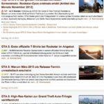 GTA 5 News Videogameszone.de, Screenshot vom 1.1.2013