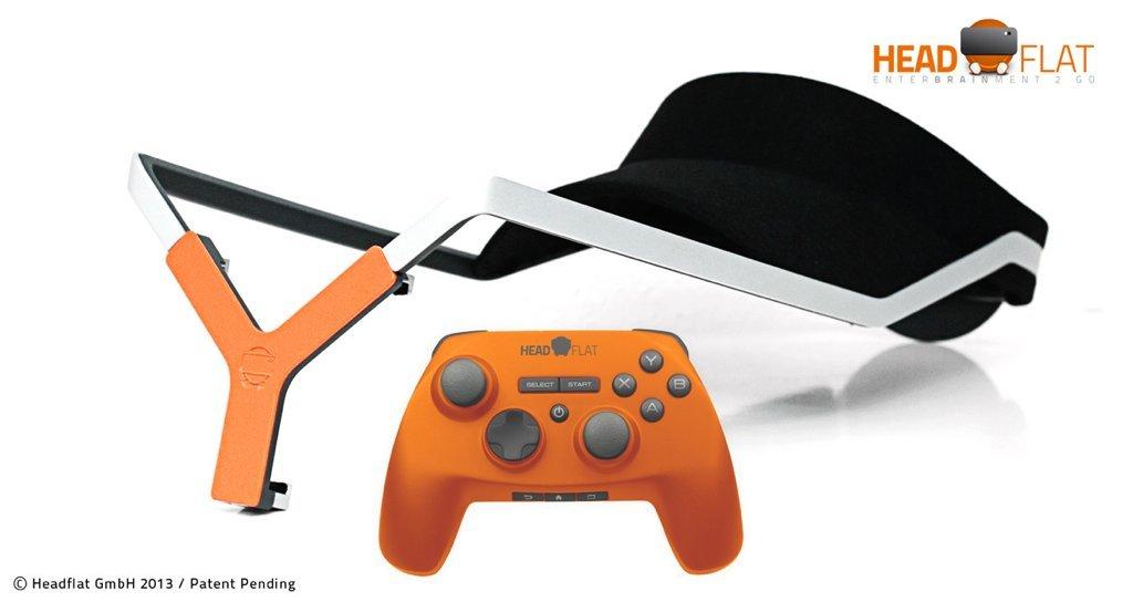 headflat Halterung und Bluetooth-Controller