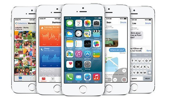 iOS 8 - Funktionen am iPhone 5s