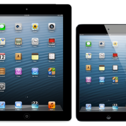 Touchscreen des iPad 4 und iPad mini reagiert am schnellsten