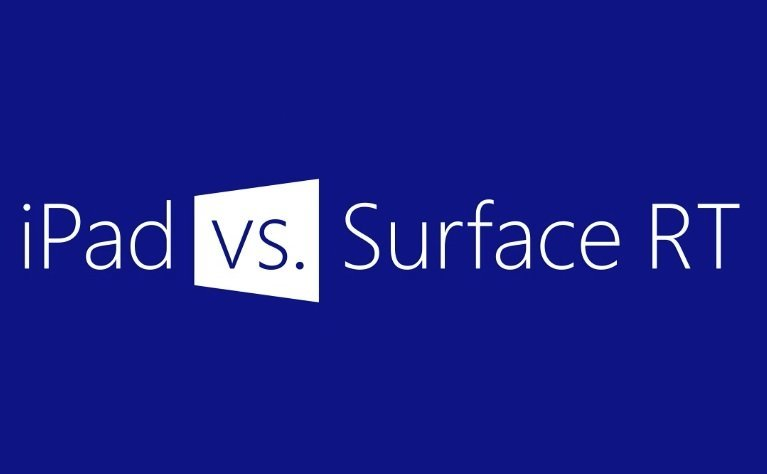 Microsoft-Kampagne: iPad vs. Surface RT