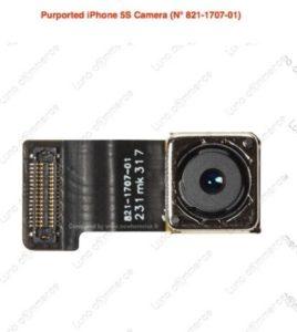 Angebliches iPhone-5S-Kameramodul. Foto: nowhereelse.fr