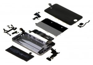 """iPhone 5S """"Exploded View"""""""