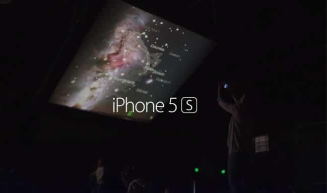 iPhone 5s Werbung