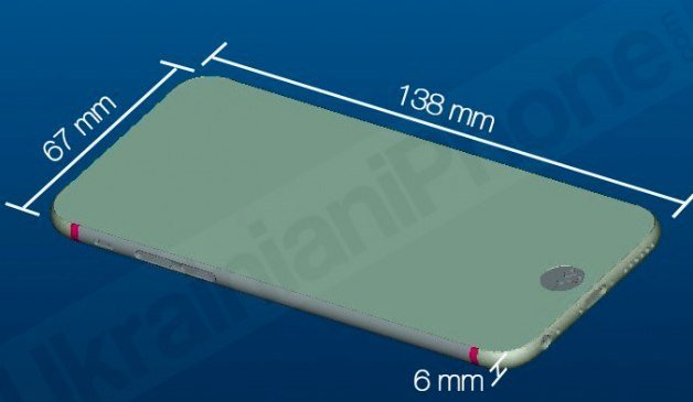 iPhone 6 Masse