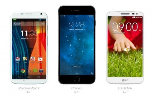 iPhone 6 Vergleich