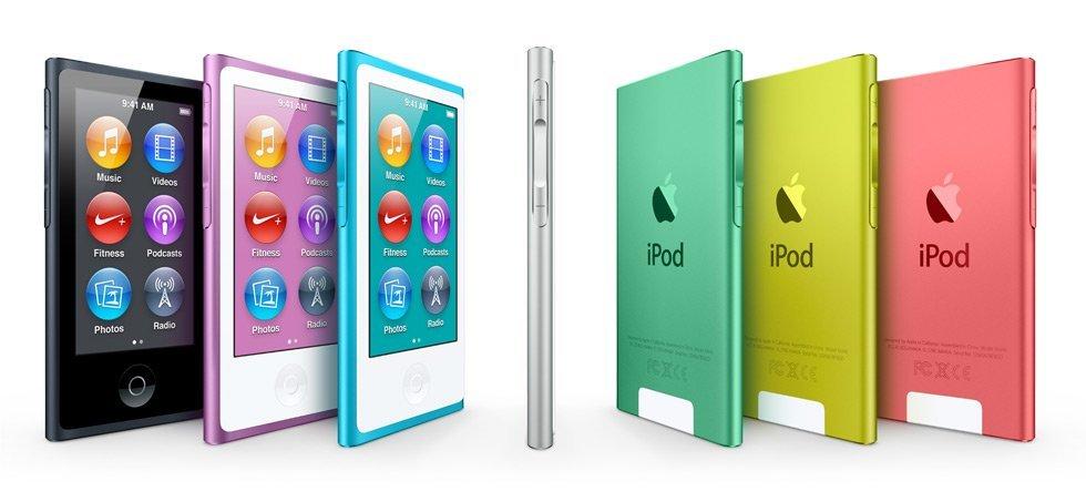 iPod nano 7G: Firmware-Update 1.0.4 veröffentlicht