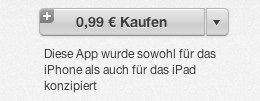 App Store - Preis 99 Cent