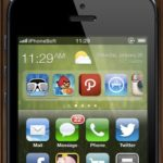 iOS 7 - Konzeptgrafik mit Widgets Zone iPhonesoft.fr