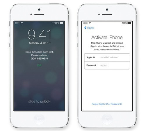 iOS 7: Activation Lock