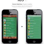 iOS 7 Game Center Konzept