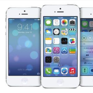 iPhone 5 mit iOS 7