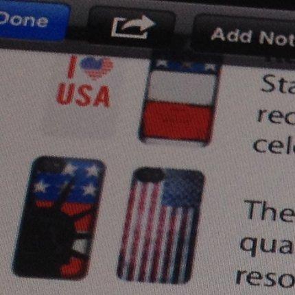 iPhone-Hüllen zum Independence Day 2013