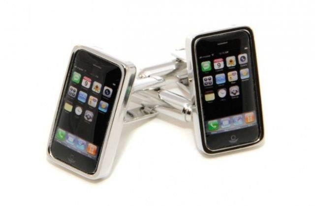 iPhone-Manschettenknöpfe
