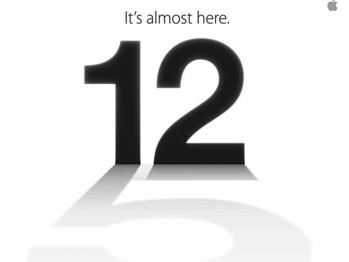 iPhone 5 Eventeinladung