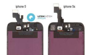 Display-Panels im Vergleich: iPhone 5 und 5S, Bild: FanaticFone.com