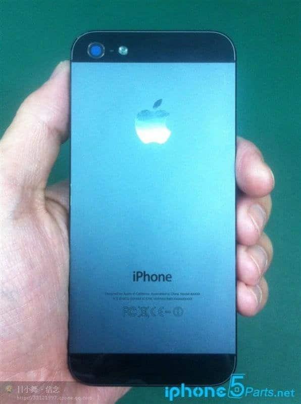 iPhone 5S Prototyp Rückseite