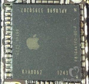 Foto zeigt möglichen Apple A7, Foto: MacRumors