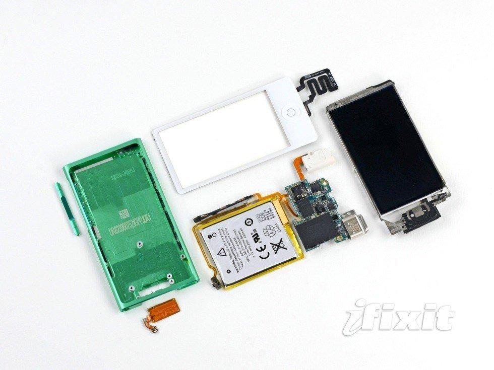 iPod nano 7G Teardown veröffentlicht