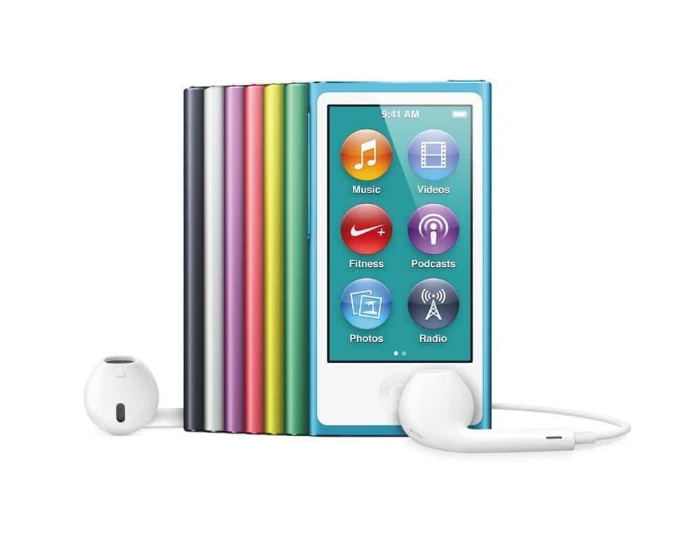 ipod nano apple stellt neue version auf keynote vor. Black Bedroom Furniture Sets. Home Design Ideas