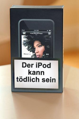 Der iPod kann tödlich sein
