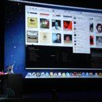 iTunes-Update auf Keynote präsentiert, Foto: Engadget